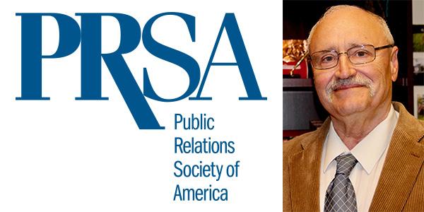 Communications studies professor earns PSRA lifetime achievement award