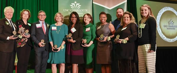 Alumni Association honors eight individuals at awards ceremony