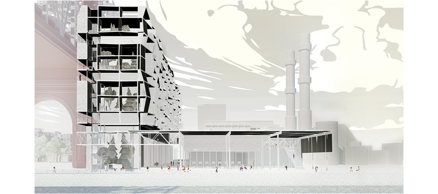 Architecture team wins honorable mention in international competition