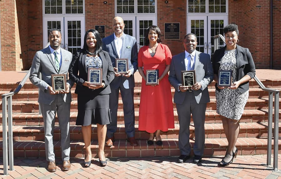 Six alums honored with 2018 Excellence in Leadership Awards