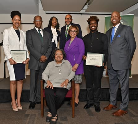Two students receive inaugural Harper-Thomas Legacy Endowment Awards