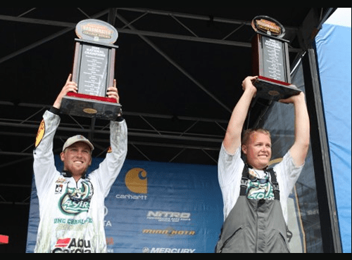 C Charlotte students win national college bass fishing title