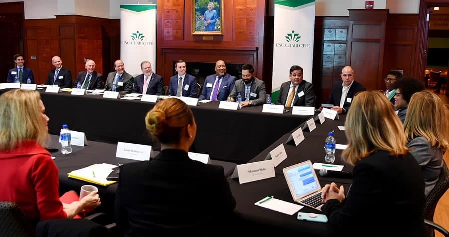 Senators Berger and Bishop host educational roundtable at UNC Charlotte
