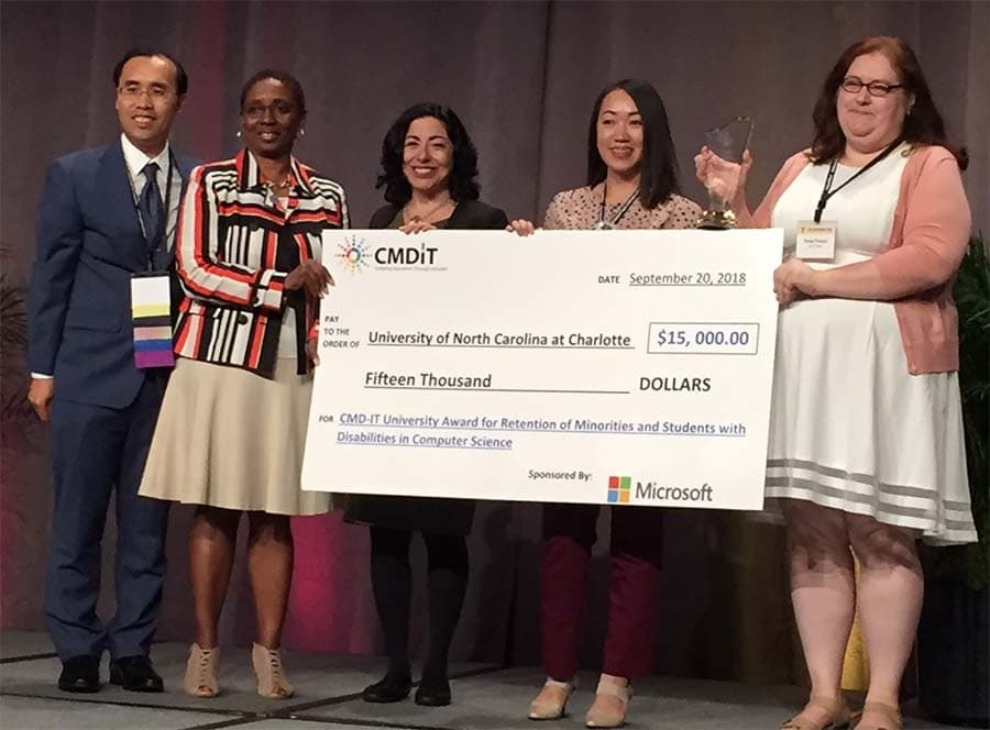 CCI receives national award for retention of underrepresented students