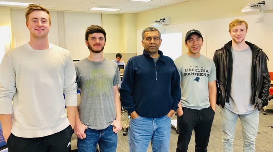 CCI team creates cryptocurrency platform to win hackathon
