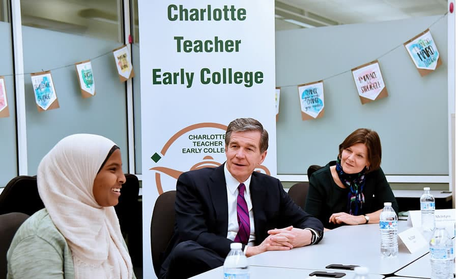 Governor explores the importance of teacher training programs