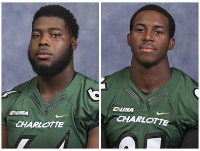best service d0d63 37fe8 Charlotte 49ers Nate Davis selected in NFL Draft, Juwan ...