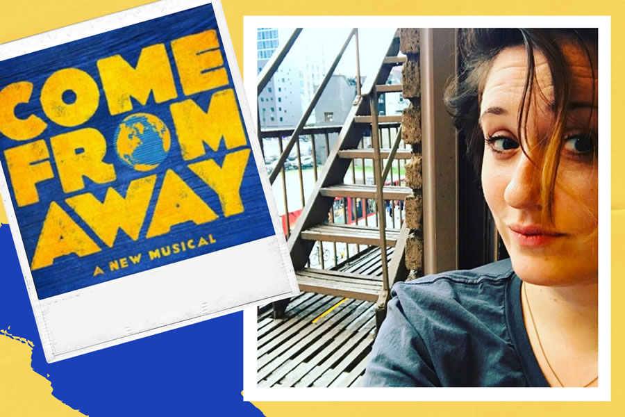 Alumna is backstage on Broadway