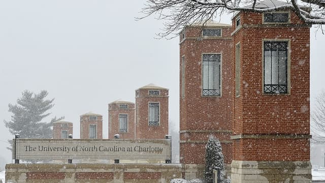 Image result for uncc pictures of snow
