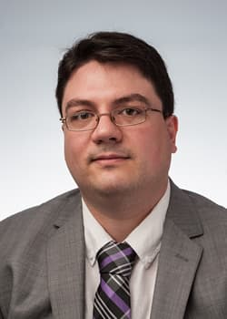Photo of Erik Saule, an assistant professor in the College of Computing and Informatics' Department of Computer Science