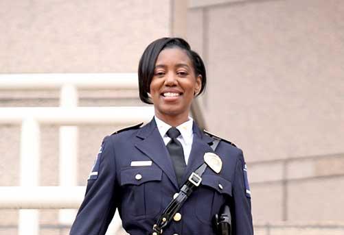 Alumna chosen as Raleigh police chief