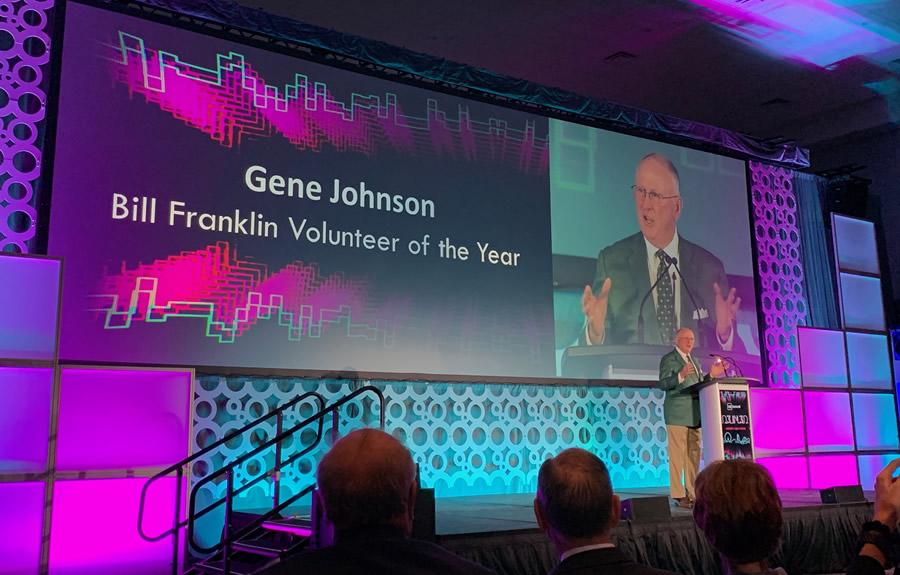 Gene Johnson CASE Award