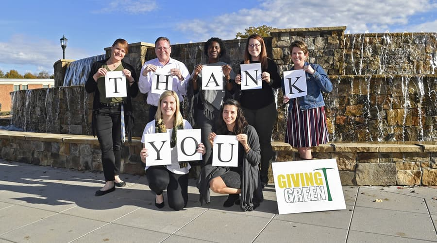 University breaks records with annual giving campaigns