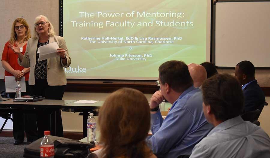 Graduate School co-hosts conference on building community
