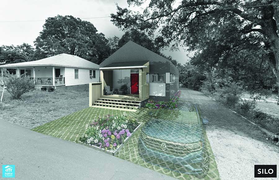 Architecture professor, students design Habitat house prototype