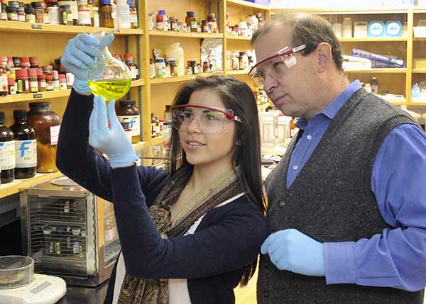 Chemistry professor receives national award for mentoring undergraduates' research