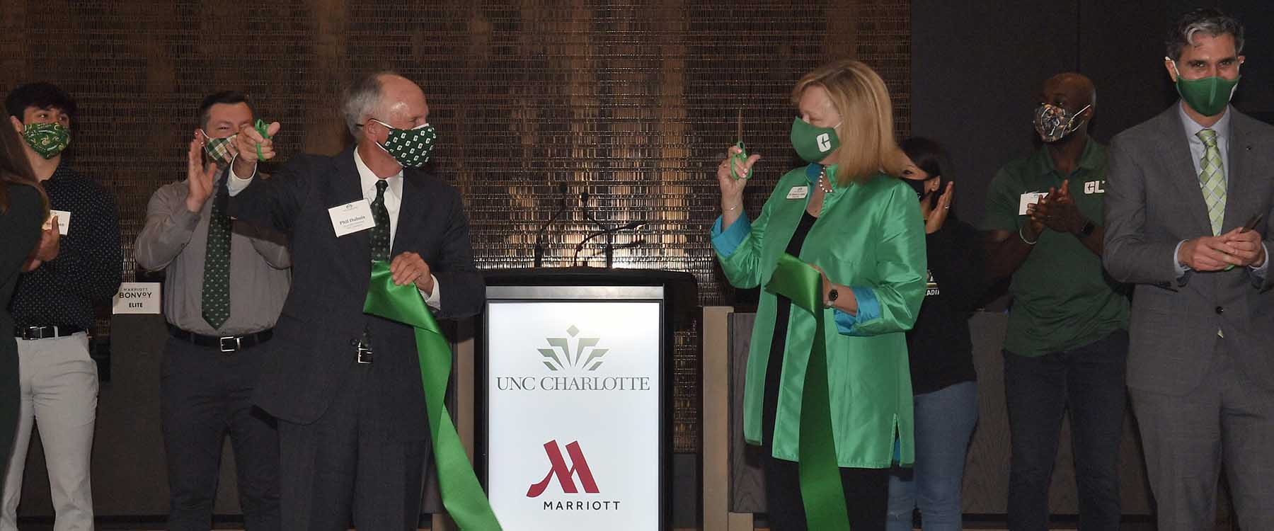UNC Charlotte Marriott Hotel & Conference Center officially opens