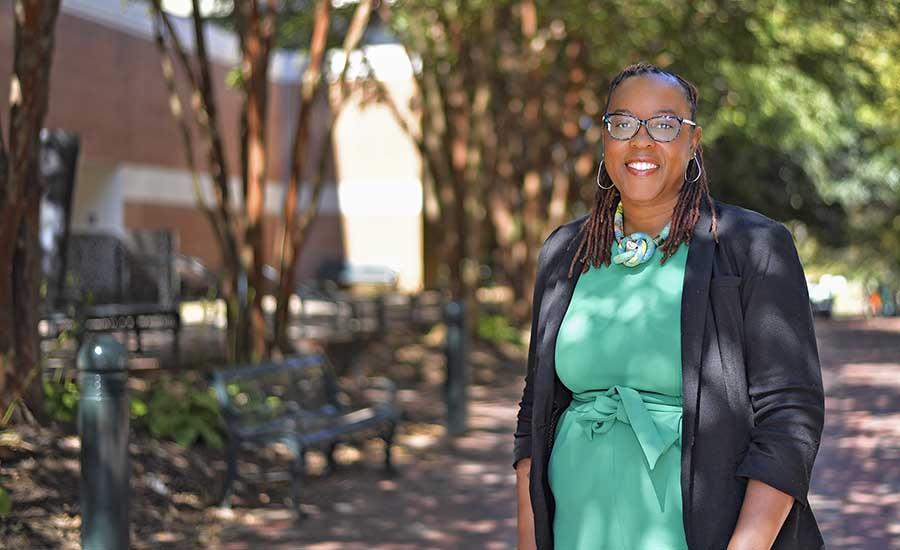 Professor advocates for literacy, leadership for girls and women through scholarship and mentorship