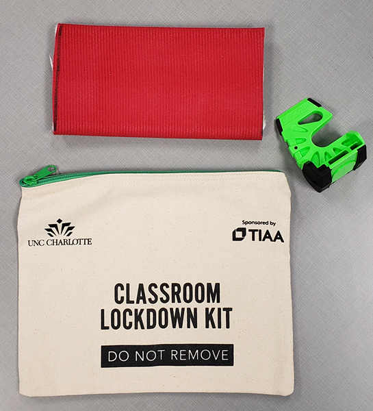 Lockdown kits now installed in most University classrooms