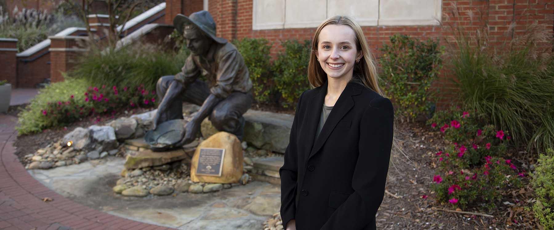 Alumna Megan Bird awarded Phi Kappa Phi fellowship