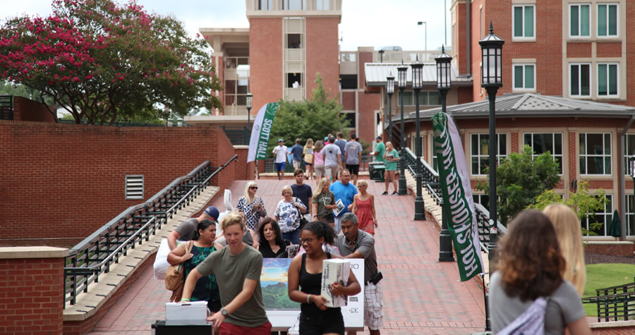 Campus delays possible during Move-In