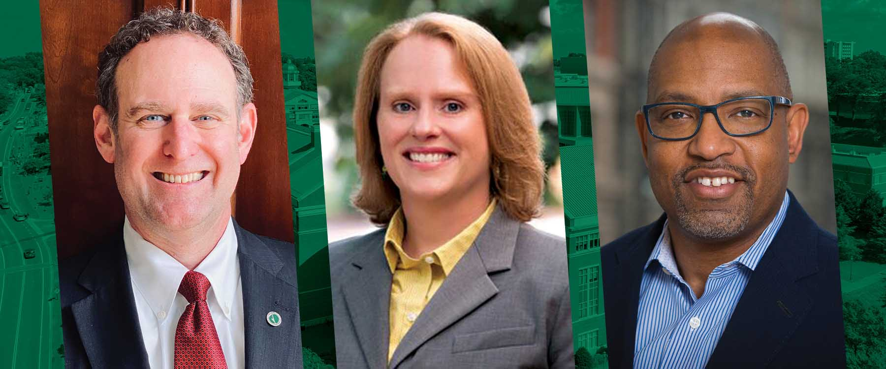 New leaders named for Engineering, Business and Office of Urban Research and Community Engagement