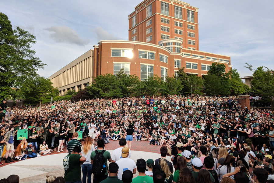 Niner Nation Remembers website launches