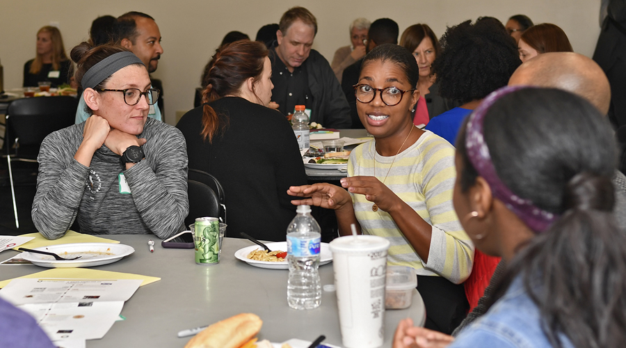 'On The Table' encourages community dialogue