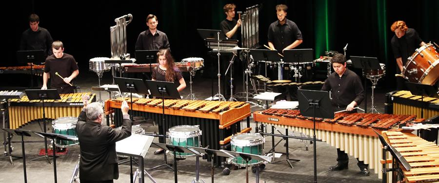 The UNC Charlotte Percussion Ensemble