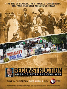 Reconstruction documentary poster