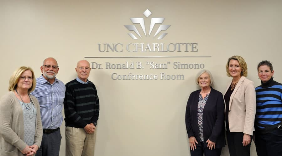 Honoring service – conference rooms named for former Student Affairs personnel