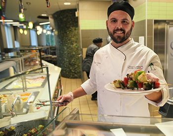 Campus dining halls recognized for sustainability efforts