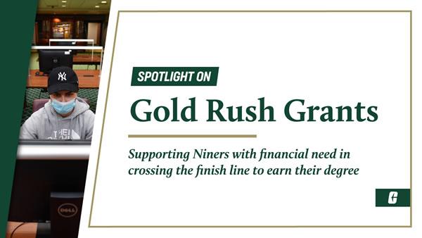 Gold Rush Grants help seniors complete their degrees