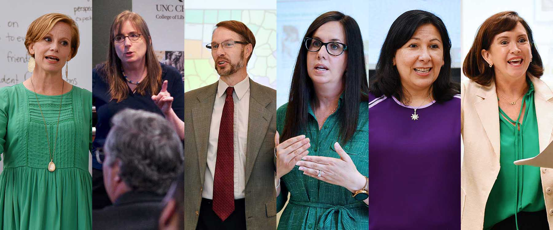 Teaching excellence award finalists spark students' desire to learn
