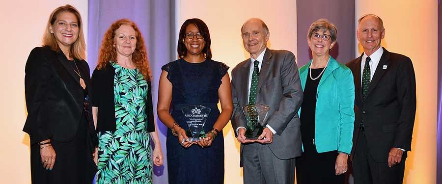 Webb, Marshall named 2019 University Teaching Excellence Award winners