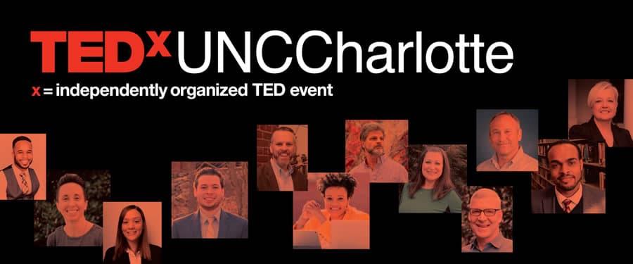 Inaugural TEDxUNCCharlotte speakers