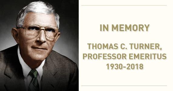 In Memory Tom Turner