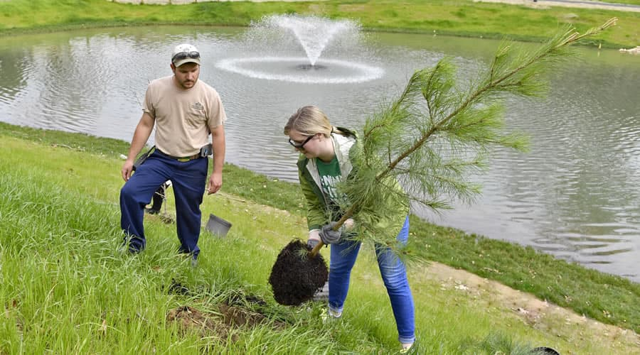 Earth Month activities to make campus greener
