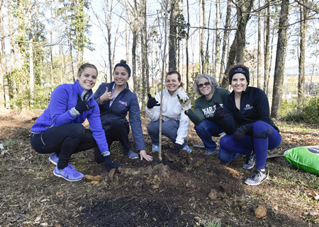 File photo: 2019 tree planting