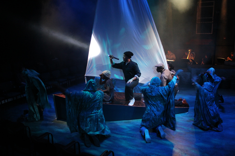 A scene from 'Twelfth Night' production