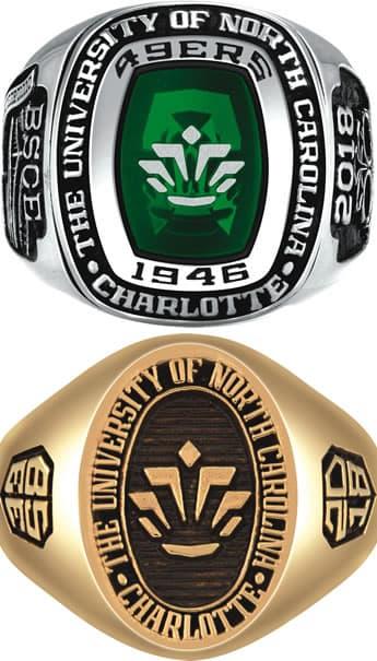 Unc Charlotte Class Ring
