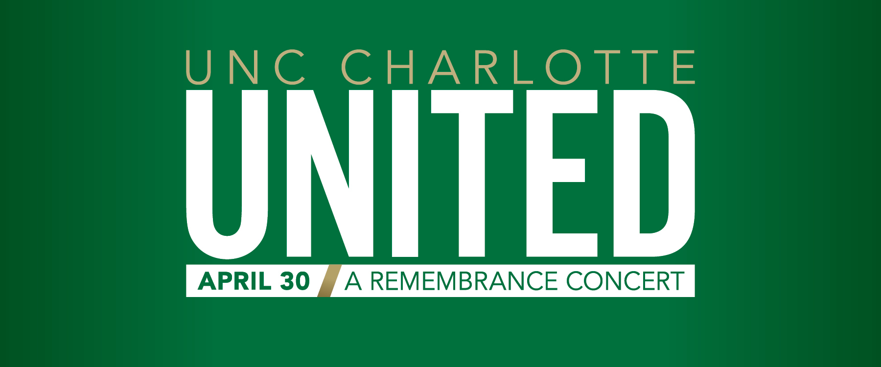 UNC Charlotte to host April 30 Remembrance Concert at Blumenthal