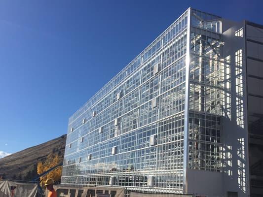 Architecture professor s firm designs unique vertical for Greenhouse architecture design