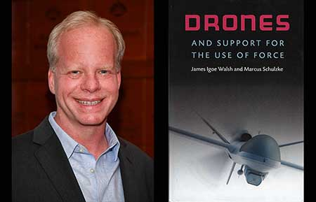 Political scientist's Personally Speaking talk to delve into drones