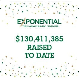 Exponential: The Campaign for UNC Charlotte - $130,411,385 Raised To Date