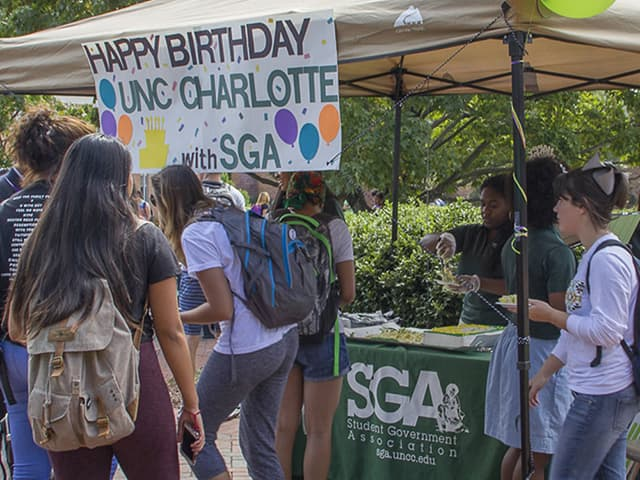 Happy Birthday to UNC Charlotte!