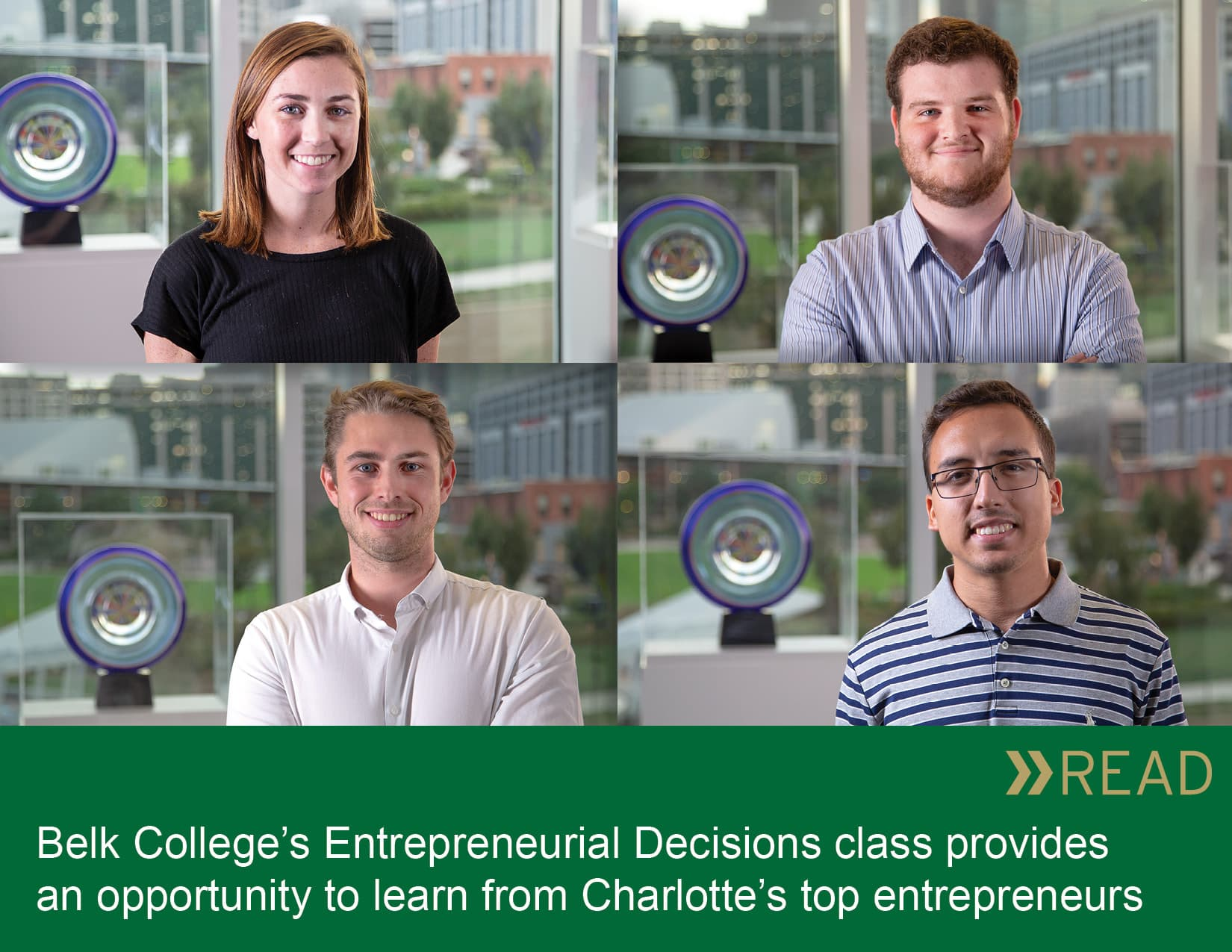 Entrepreneurial Decisions students