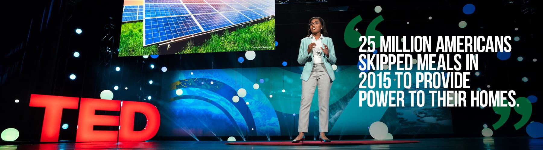 DeAndrea Salvador, 2018 TED Fellow