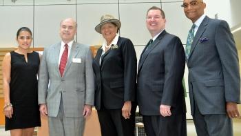 Congresswoman Adams visits PORTAL
