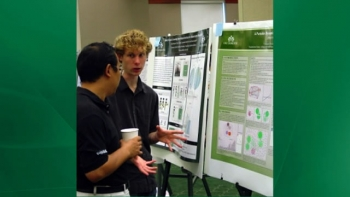 Charlotte Research Scholars student